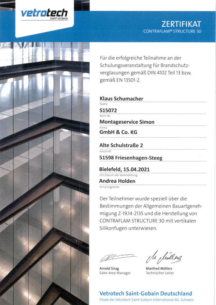 Zertifikat-Klaus-Schumacher